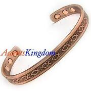Mens Copper Magnetic Bracelet