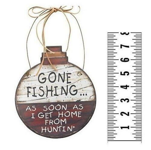 Gone Fishing Sign | eBay