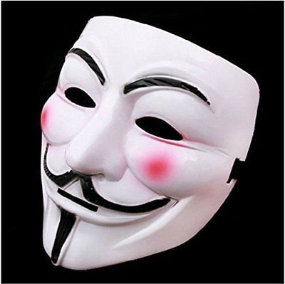 Guy Fawkes Anonymous Halloween Masks V for Vendetta MaskFancy Dress Costume - Costumes For Guys Halloween
