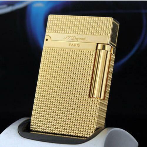 new style S.T Dupont lighter Memorial lighter Bright Sound Golden lighters