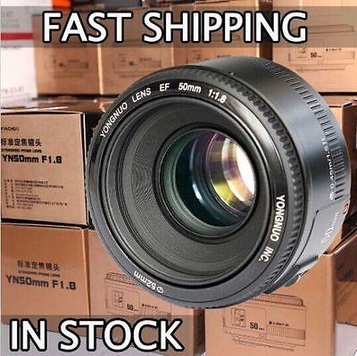 Yongnuo YN50mm F/1.8 Standard Prime Lens for Canon EOS Rebel Camera ,AF/MF
