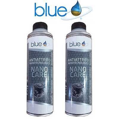 KIT ADDITIVO ANTIATTRITO NANOTECNOLOGICO Benzina / Diesel / GPL BLUE 2 PEZZI