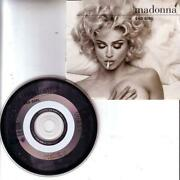 Madonna Bad Girl CD