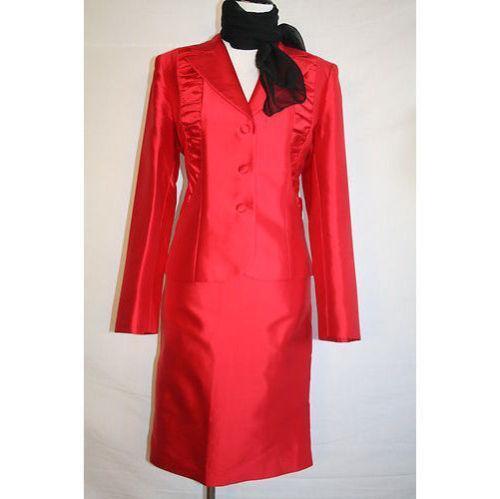 Silk Skirt Suit Ebay