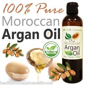 100% PURE CERTIFIED ORGANIC MOROCCAN ARGAN OIL 125ML