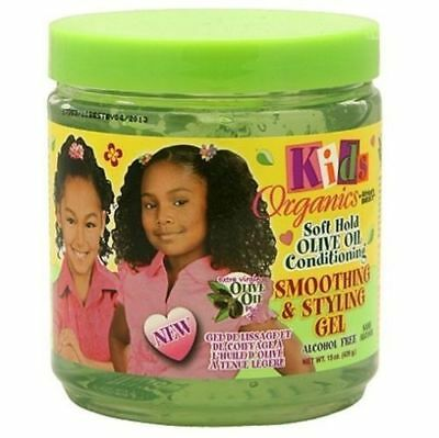 Kids Organics by Africa Best Soft Hold Olive Oil Smoothing & Styling Gel