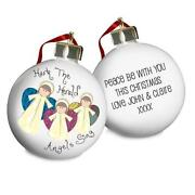 Personalised Angel Christmas Tree Decoration