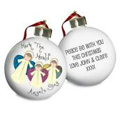 Personalised Angel Christmas Tree Decoration