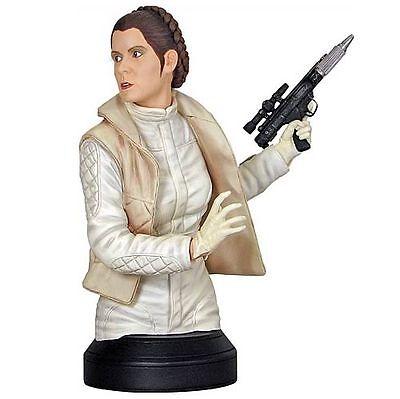 Star Wars PRINCESS LEIA HOTH Fatigues mini bust~ESB~statue~Gentle Giant~NIB