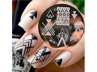 Born Pretty Nail Art Stamping Plates Decorations Nails (BP77)