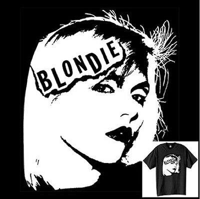 Blondie T-shirt New Wave Punk Rock 70's 80's Vintage Style Size S-6XL - 80s Punk Rock Fashion