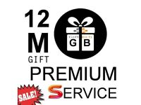 12/6 MONTH GIFT/LINES CABLE VM OPENBOX SKYBOX MAGBOX ALL BOXES!!