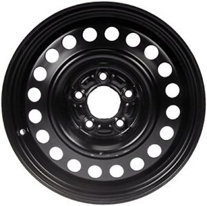 Black Steel Rims - 17x7