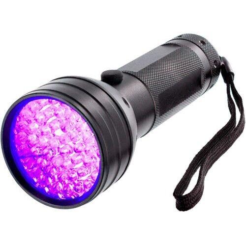 51 UV LED Scorpion Detector Hunter Finder Ultra Violet Black