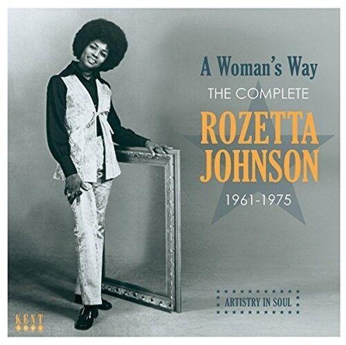 Roszetta Johnson - Woman's Way: Complete Rozetta Johnson 1961-1975 [New CD] UK -