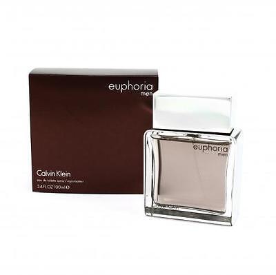 Euphoria By Calvin Klein 3 3   3 4 Oz Edt Spray Nib Sealed Cologne For Men