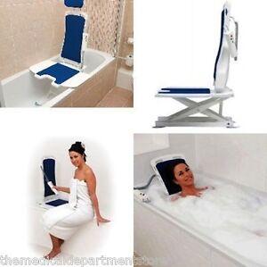 Bellavita Automatic Bath Tub Lift Folding Back Drive Medical 477200252 New
