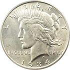 1934 Peace Dollars