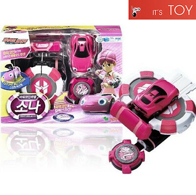 Power Battle Watch Car Sona Coin-Battle Ari Pink Korean Animation Young Toys