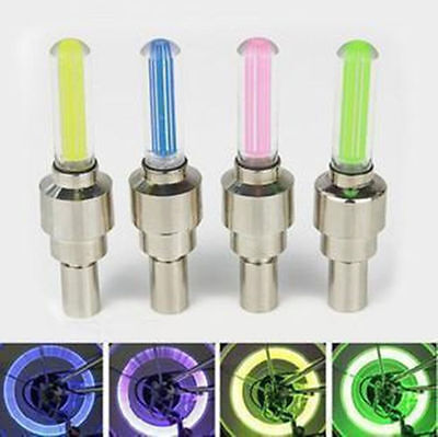 Led Tire Light Up Waterproof Motion Activated Valve Stem Caps for Bike Auto NEW](Light Up Tire Caps)