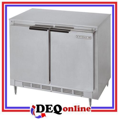 Beverage Air Undercounter Refrigerator Ebay