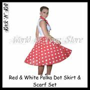 50s Polka Dot Skirt