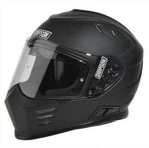 Simpson Helmets - Ghost Bandit - Matte Black - Sz Medium