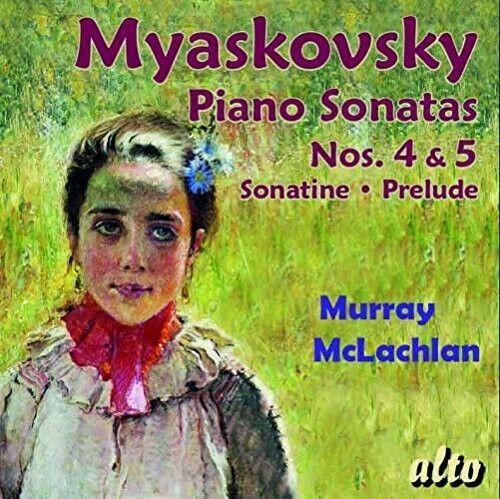 Myaskovsky / Mclachlan - Piano Sons 4 & 5 [New CD]