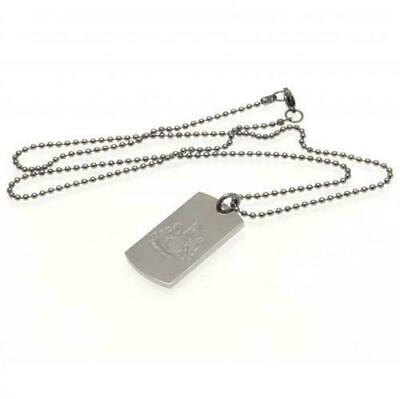 Newcastle United FC Stainless Steel Engraved Dog Tag & Chain