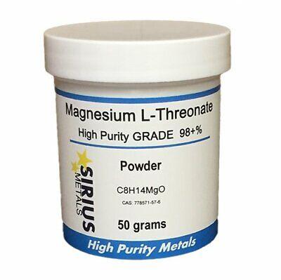 Magnesium L-threonate 50g 98 Purity