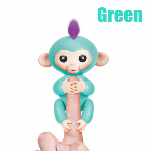 Electronic Interactive Fingerling Happy Monkey Motion Pet Ho