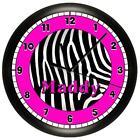 Zebra Pink Room Decor