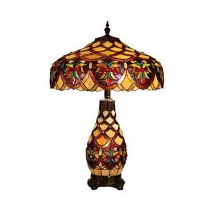 Tiffany style lamp lamps ebay tiffany style ceiling lamp shades mozeypictures Image collections