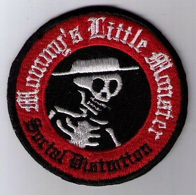 SOCIAL DISTORTION MOMMY'S LITTLE MONSTER PATCH IRON ON OR SEW ON