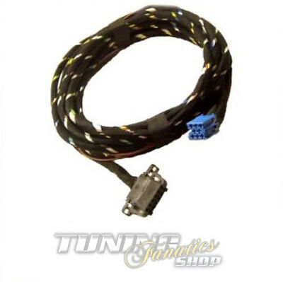 CD Changer Cable Cable Loom Extension 5m for VW Audi Seat Original Radio 8pin