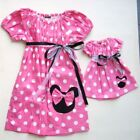 Handmade Minnie Mouse 2T Size Dresses (Newborn - 5T) for Girls