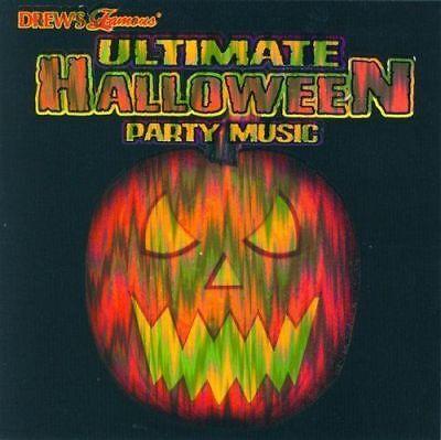 Ultimate Halloween Party Music Cd (Drew's Famous Ultimate Halloween Party Music by Drew's Famous (CD, Jul-2002,)