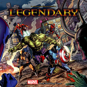 BOARD GAME - LEGENDARY - MARVEL DECK BUILDING GAME