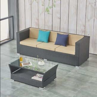 Brand New Barcelona 240cm outdoor furniture set