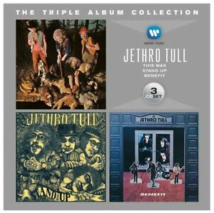 JETHRO TULL Triple Album Collection 3CD BRAND NEW This Was/Stand Up/Benefit