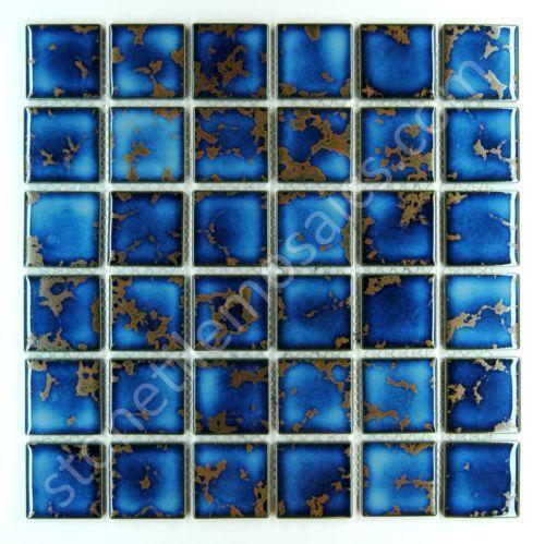 Pool Tile Blue Ebay