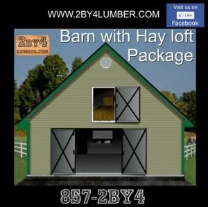 Barn Package with Hayloft s