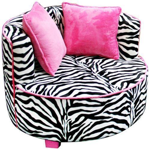 Kids Zebra Chair | eBay