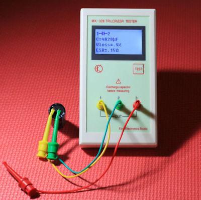 Portable Mk328 Lcr Esr Tester Transistor Inductance Capacitance Resistance S249
