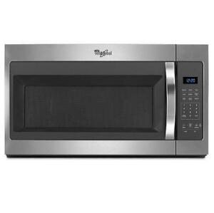 Whirlpool Over-the-Range 30 Microwave, stainless