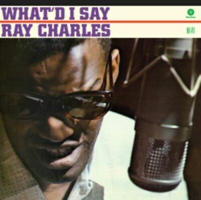 Ray Charles- What'd I Say (New Vinyl)