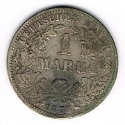 1 Mark Deutsches Reich 1875