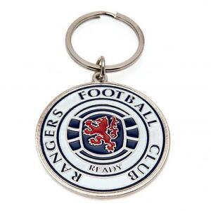 Glasgow Rangers Crest Keyring Brand New
