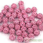 10mm Round Crystal Beads