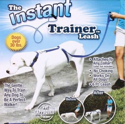 Dog Training Leash Pulling - Pet Dog Instant Trainer Puppy Leash Rope Walking Training 30 Lbs Stop Pulling